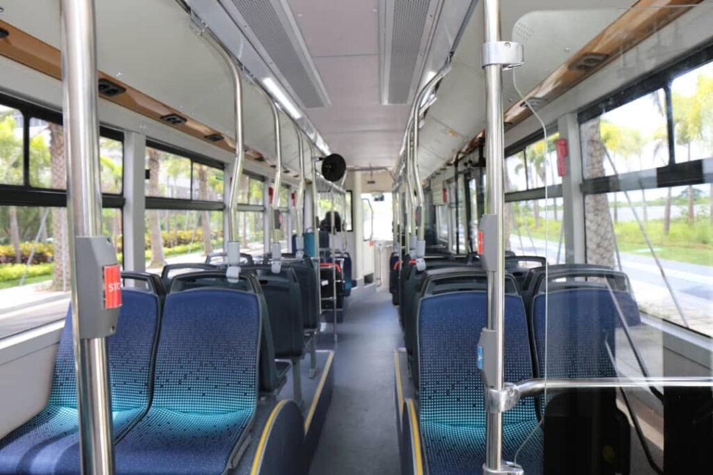 elektromos busz belulrol