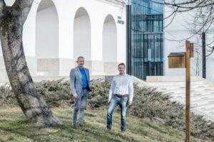 Nagy Zsombor Kancellár és Nagy László HR-igazgató