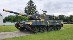 Gidrán páncélozott harcjármű és a Leopard 2A4HU harckocsi